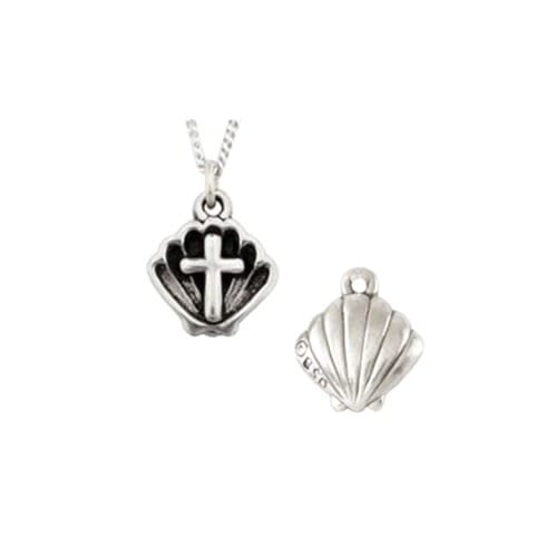 Sterling Silver Baptism Shell