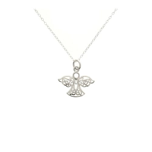 angel sterling necklace silver company the catholic guardian