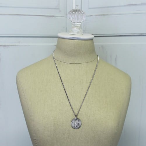 7b013330efc Sterling Silver St. Christopher Medal on 24 inch chain | The ...