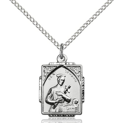 Sterling silver st gerard pendant the catholic company sterling silver st gerard pendant aloadofball Image collections