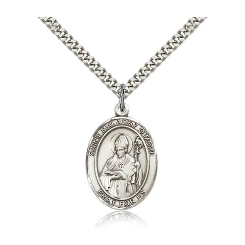 Sterling Silver St. Malachy O'More Pendant w/ chain