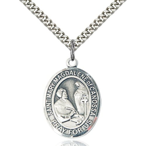 Sterling silver st mary magdalene of canossa pendant the catholic sterling silver st mary magdalene of canossa pendant mozeypictures Gallery