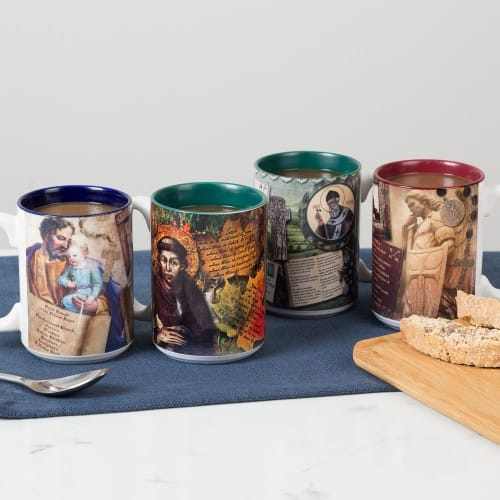 Story Mug Set (Male Saints)