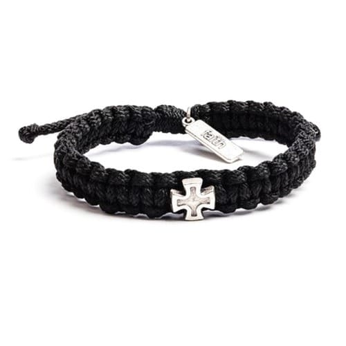 Strength From Christ Woven Bracelet For Men