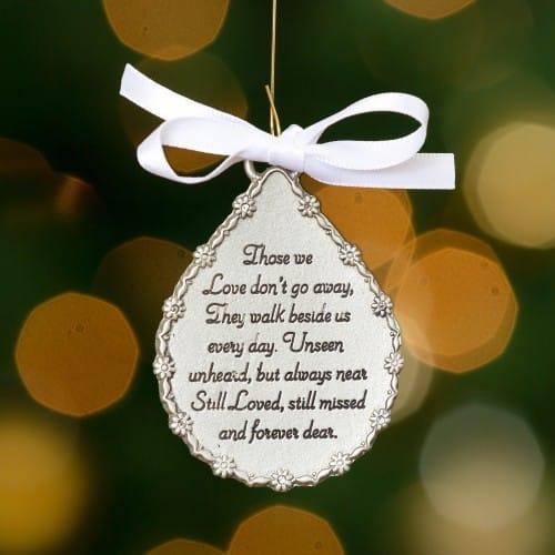 Tear-Shaped Memorial Ornament | The Catholic Company