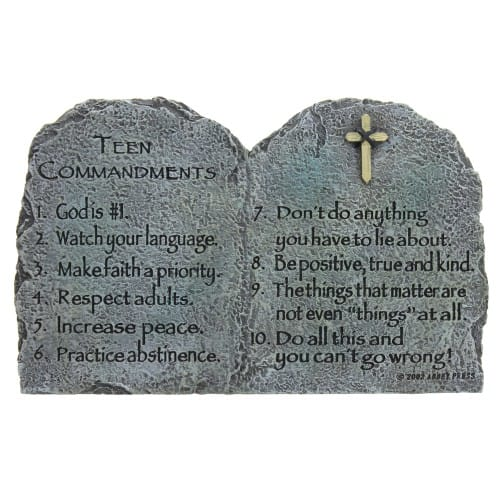 Teen Commandments