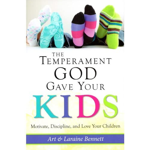 The Temperament God Gave Your Kids