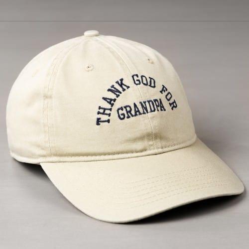 Thank God for Grandpa Ball Cap  351548de5c25