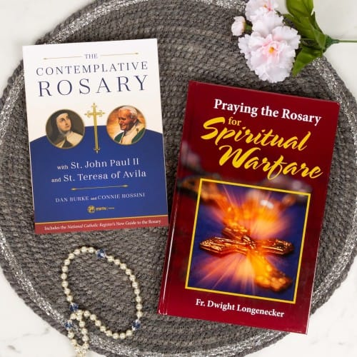 The Contemplative Rosary & Praying the Rosary for Spiritual Warfare (2 Book Set)