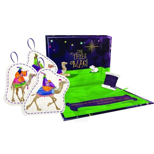 The Wise Men Ornament Sewing Kit