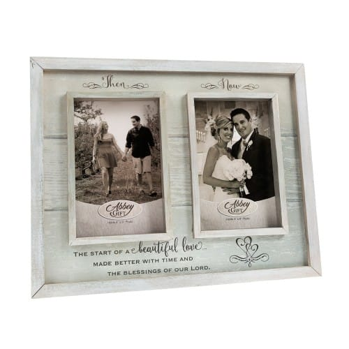 Then & Now Wedding/Anniversary Frame