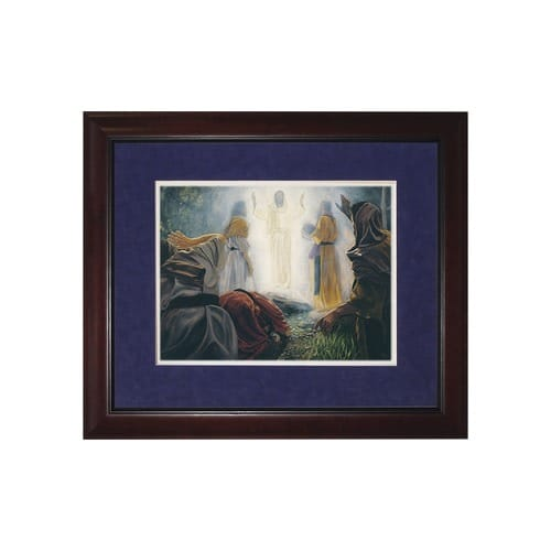 The Transfiguration (Matted w/ Cherry Frame)