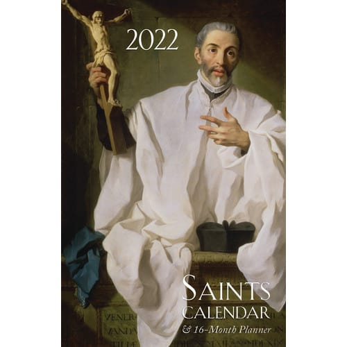 2018 Saints Calendar & 16 Month Planner | The Catholic Company