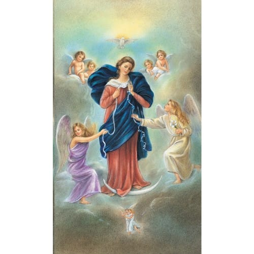 Virgin Mary Untier of Knots Prayer Cards - Personalizable