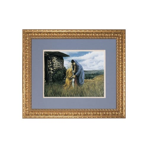 The Visitation I, Matted w/ Ornate Gold Frame (Limited Edition)