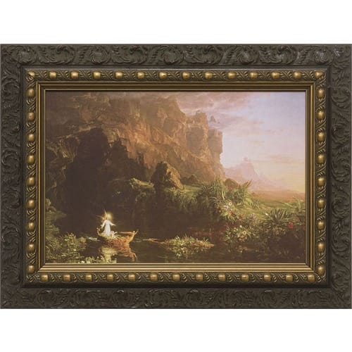 Voyage of Life (Set of Four) w/ Dark Ornate Frame