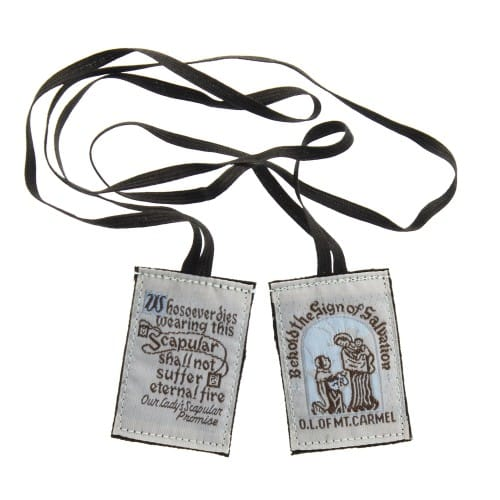 Washable Brown Scapular The Catholic Company