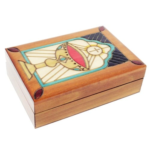 Wood Box with Chalice