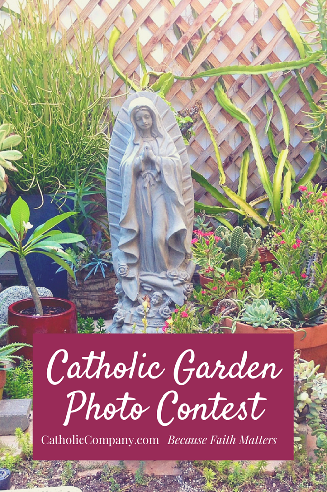 Submit your photo to The Catholic Company's Summer Catholic Garden Photo Contest!