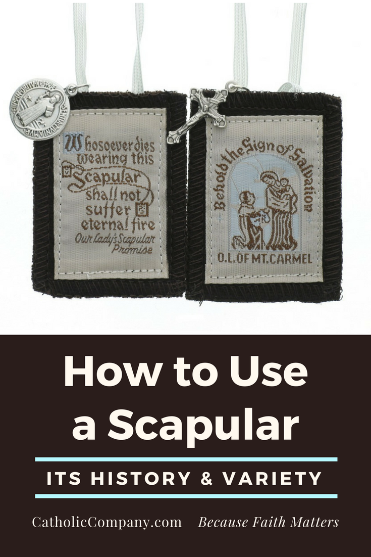 Scapulars have been worn by the lay faithful as a sign of faith and devotion since the Middle Ages. Learn more about its history, symbolism, and many varieties.