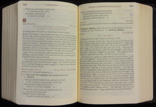Daily Roman Missal Sample Page