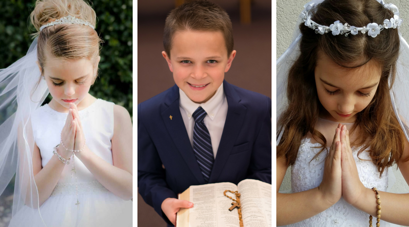 2017 First Holy Communion Photo Contest sponsored by The Catholic Company