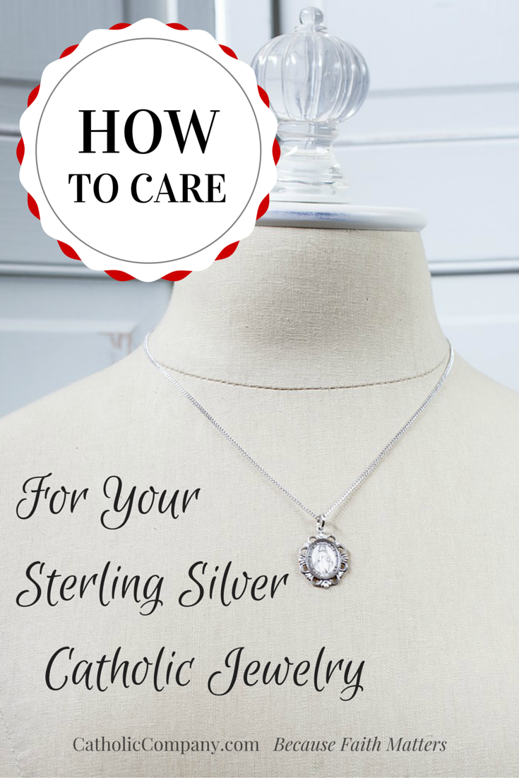 How to Properly Take Care of Your Sterling Silver Religious Jewelry
