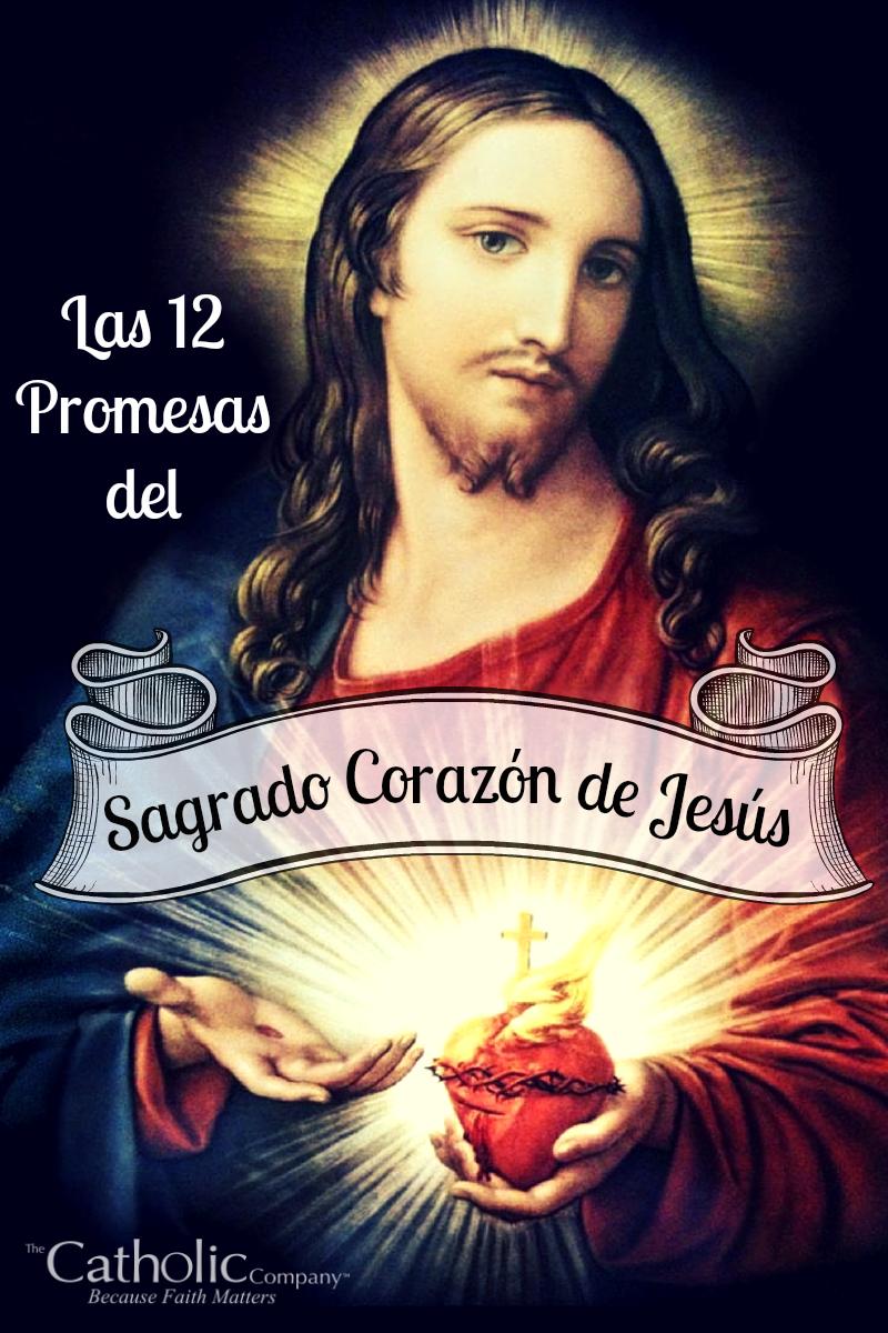 Las 12 Promesas del Sagrado Corazon de Jesus image