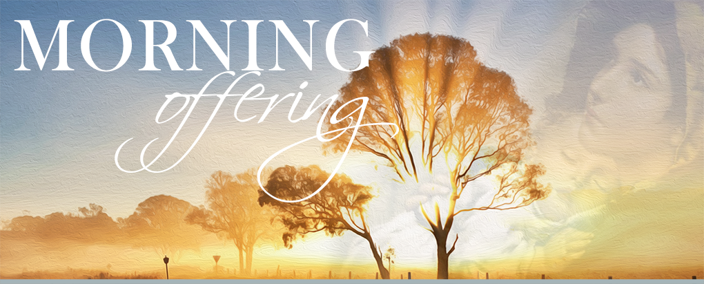 morning offering banner