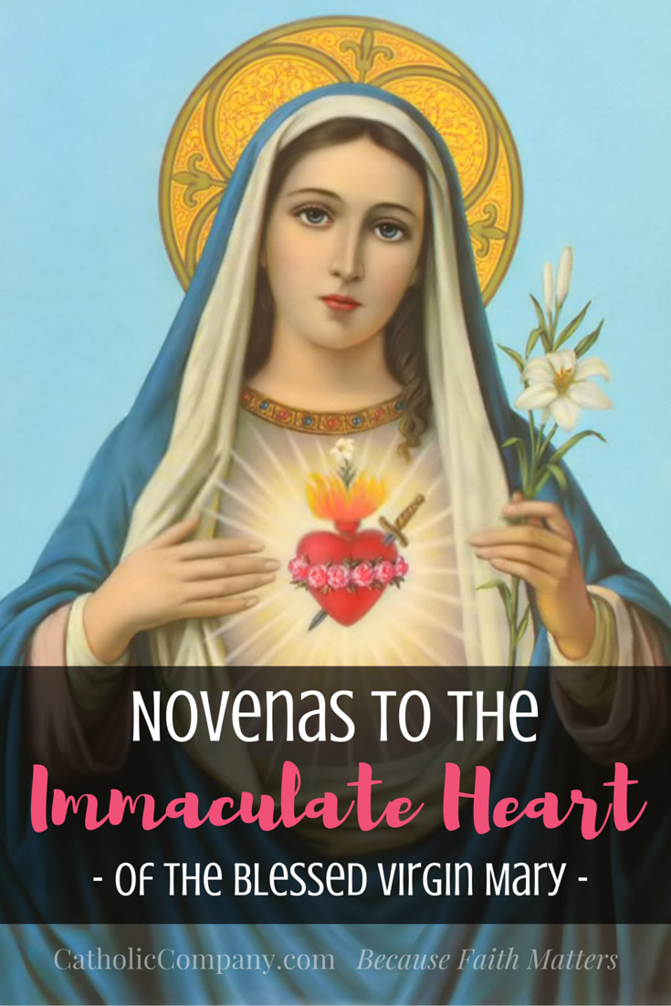 Novenas to the Immaculate Heart of Mary
