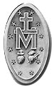 Reverse Side of the Miraculous Medal.
