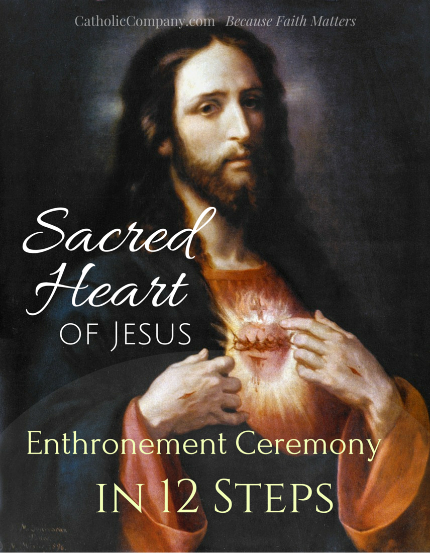 Sacred Heart Enthronement Ceremony in 12 Steps