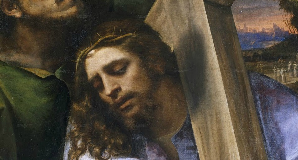 Detail of Christ Carrying Cross by Sebastiano del Piombo