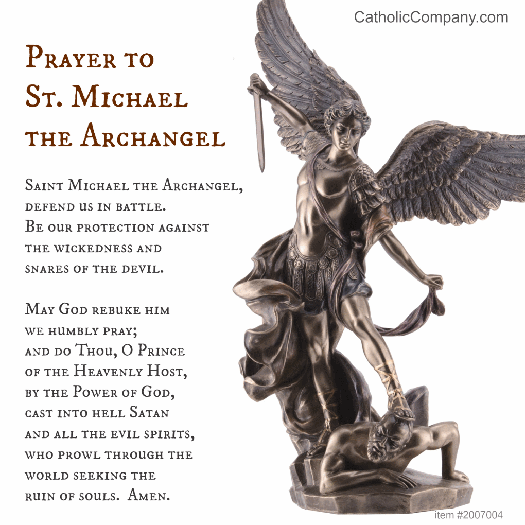 a look at st michael the archangel Visiting from out of town you can easily find saint michael the archangel catholic church, conveniently located near the belden village area all are welcome to celebrate with us.