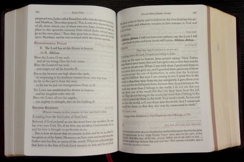 Saint Paul Missal Sample Page