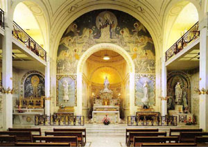 Chapel of Our Lady of the Miraculous Medal in Paris, France.