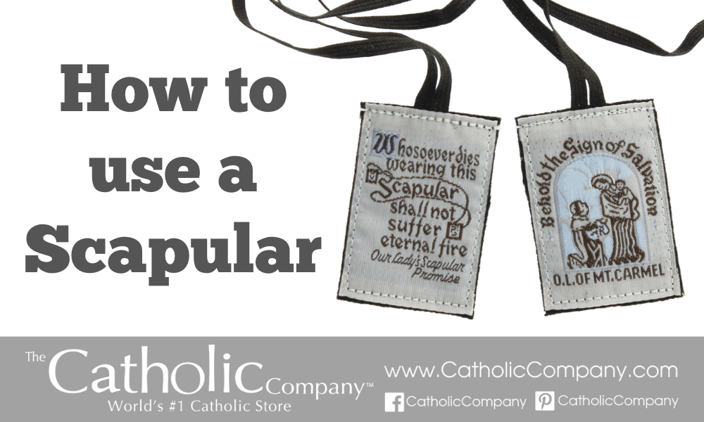 How To Use a Scapular