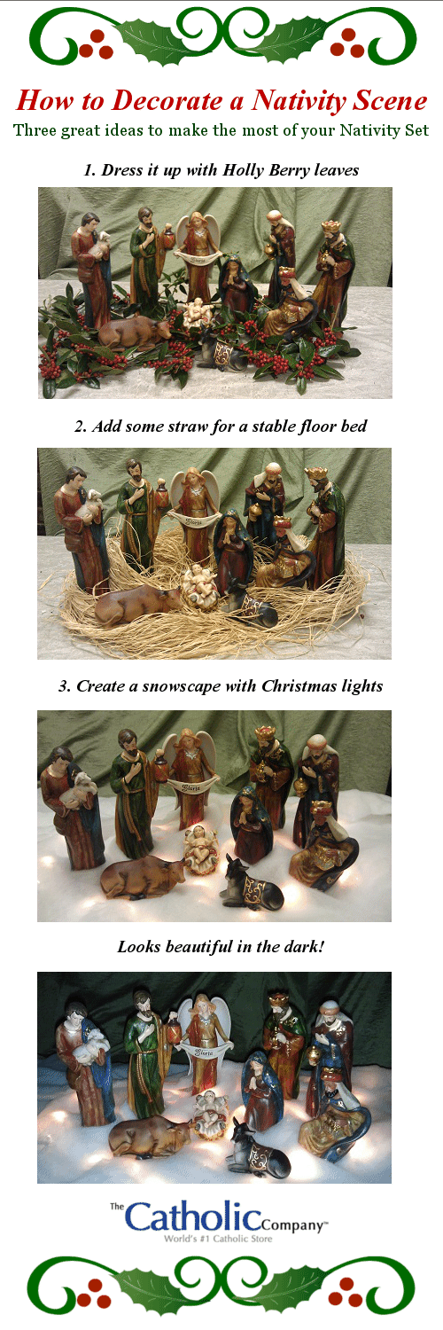 How to Decorate Your Nativity Scene