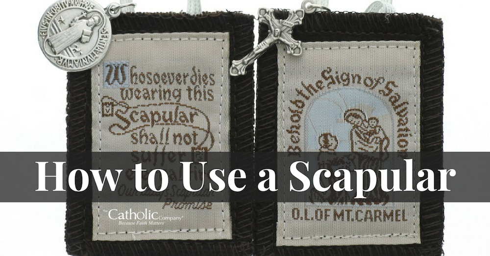 How To Use a Scapular: its history, meaning, and how to use it properly