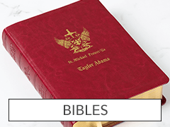 Bibles - Red St Michael