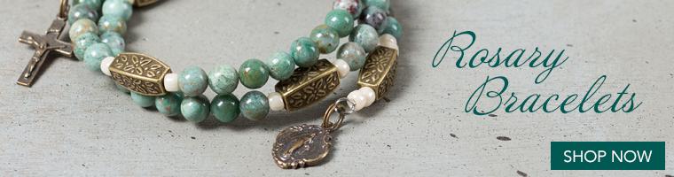 rosary bracelet promo