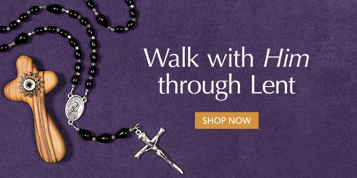 Lent - Cross and Rosary