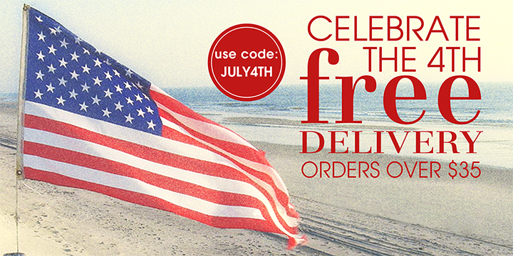 Free Shipping 4th