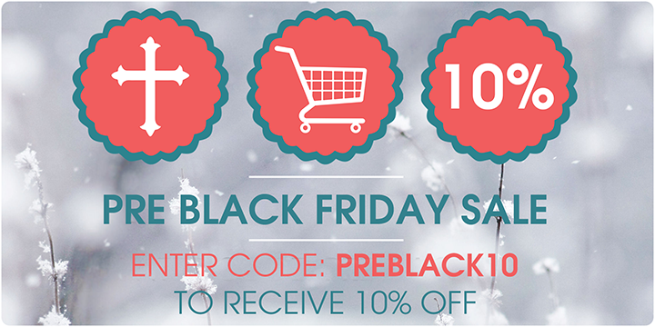 Pre-Black Friday Sale 10% off