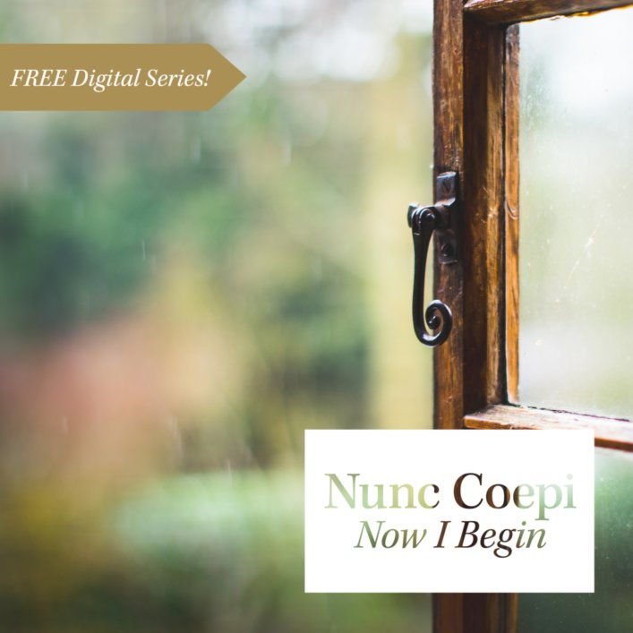 product image for Nunc Coepi:<br/>Now I Begin