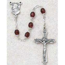 January Birthstone Rosary