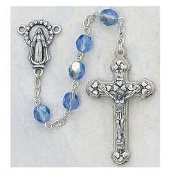 December Birthstone rosary