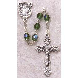 Birthstone Rosary August
