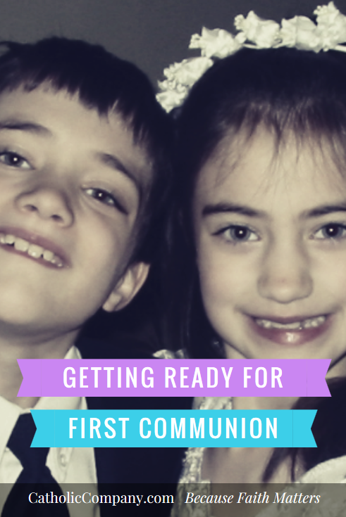 Getting Ready for First Holy Communion Season