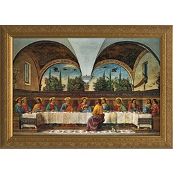 Last Supper by Ghirlandiao
